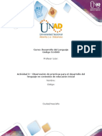 Formato para la elaboración de la actividad 3 - Observación de prácticas para el desarrollo del lenguaje en contextos de educació - modificado.docx