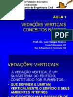 Vedacoes verticais - Conceituacao e desempenho