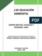 PLAN DE EDUCACIÓN AMBIENTAL CNAP