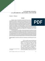 Analisis Del Analista Marruco