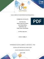 PASO 4 PROYECTO DE INTERVENCION PEDAGOGICA