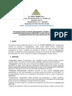 Procedură privind acordarea despăgubirilor clienţilor casnici pentru receptoarele electrocasnice deteriorate ca efect al unor supratensiuni accidentale produse din culpa operatorului de reţea