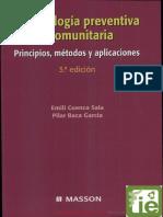 Odontología Preventiva y Comunitaria. Principios, Métdos y Aplicaciones de Cuenca y Baca