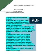 ORACION DE LAS MUJERES GUARDIANAS DE LA TIERRA