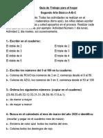 2. Guía de trabajo matemática-cuarentena-2do básico