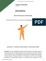 Exercise Instructions – Falun Dafa Association of Florida