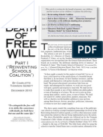 The Death of Free Will