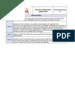 Formato 1 Información de personal