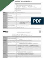 Jsp Reference Card
