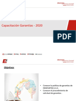Capacitacion Garantias 2020