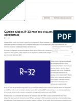 Carrier elige el R-32 para sus chillers scroll comerciales _ ACR Latinoamérica
