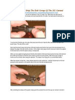 How To Detail Strip The Bolt Group Of The M1 Garand