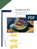 Evidencia #1 Tipos de rocas y Minerales