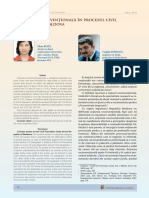 Actiunea reconventionala in procesul civil al RM
