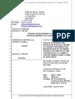 Trump Attorney's Motion for Stormy Daniels' Ohio Arrest Money
