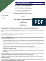 Ley 476 Ley del Servicio Civil y de la Carrera Administrativa