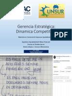 Gerencia Estrategica clase_dinamica competitiva