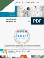 2. Pembelajaran dalam lab dan analisis kurikulum