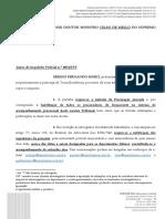 Petição defesa Sergio Moro