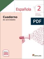 Lengua Española 2do Secundaria