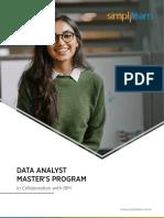 Data Analyst Master's Program 2020
