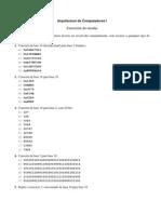 AC1-Exercicios Revisao Sistemas Numeracao