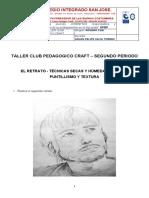 TALLER CLUB PEDAGOGICO CRAFT NOVENO CLEI SEGUNDO PERIODO