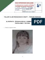 TALLER CLUB PEDAGOGICO CRAFT NOVENO CLEI TERCER PERIODO