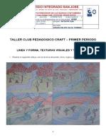 TALLER CLUB PEDAGOGICO CRAFT OCTAVO CLEI PRIMER PERIODO