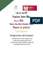 REPORTE DE PRÁCTICA CONTADORES