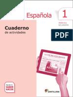 Lengua Española 1ero Secundaria