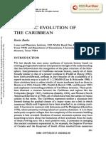 Tectonic Evolution Of Caribe
