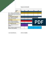 Diagrama Gantt SERVICE 1324