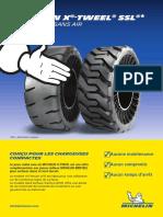Fiche produit Michelin X TWEEL BD