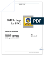 Bpcl Gmi Ratings _becg