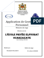 Application de Gestion du Personnel