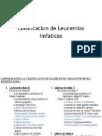 Clasificacion de Leucemias as