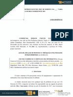 AÇÃO DE ANULAÇÃO DE PROTESTO C REPARAÇÃO CIVIL POR DANOS EXTRAPATRIMONIAIS.docx
