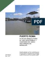 PLAN DE MANEJO PUERTO ROMA 2014.pdf
