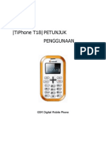 TiPhone T18 manual