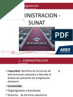 I.-ADMINISTRACION SUNAT (1)