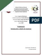 Problemario  Introducción a diseño de reactoresdf