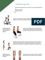 Pauta básica ejercicios pierna