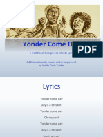 yonder come day