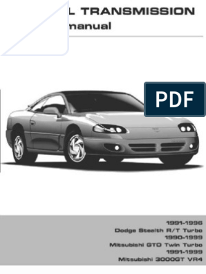 Service Manual Transmission AWD 3S Getrag English Search