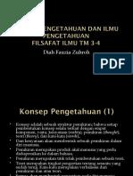 PENGETAHUAN DAN ILMU PENGETAHUAN TM34.ppt
