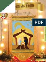 E-Book Enfeite de Porta Sagrada Família - arTÊ-lie Bruno Nascimento