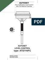 Autoset MK7 Manual