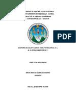 Dictamen Auditoria Caja y Bancos