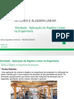 Aplicação de vetores e algebra na Eng de produção.pdf